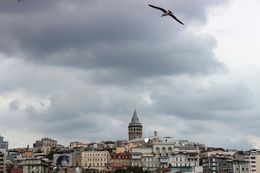 Galata Tower from the river , Susanne H - August 2015