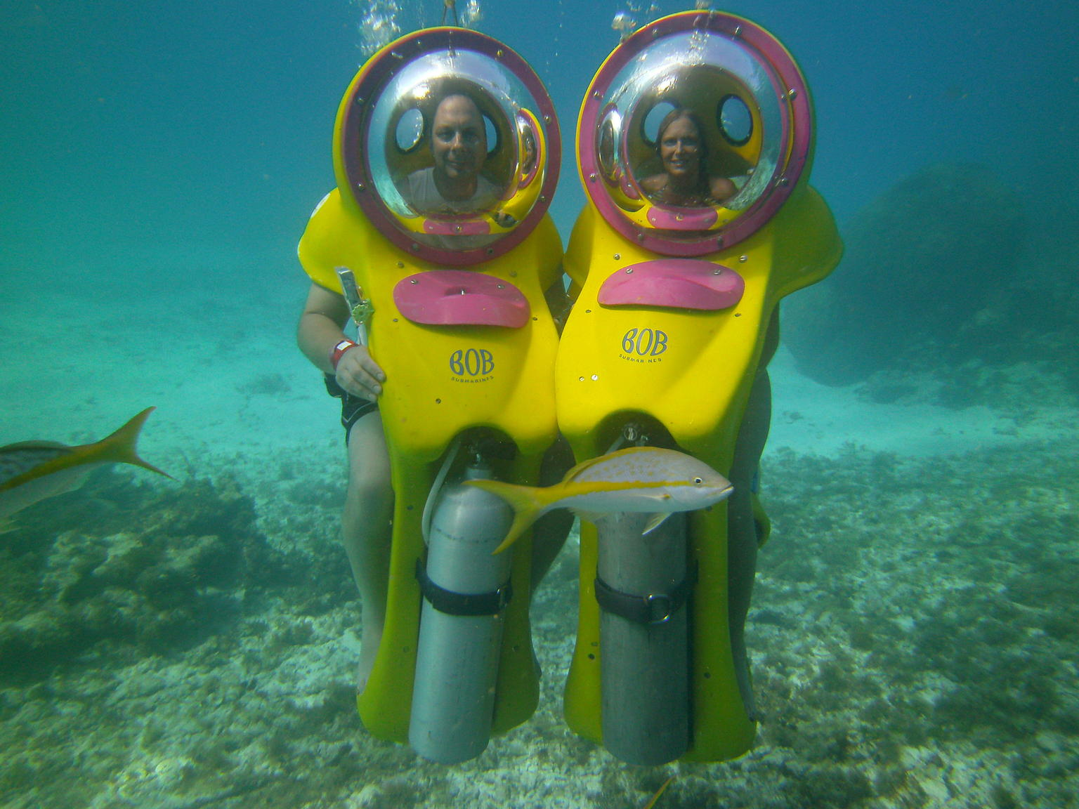Cancun Underwater BOB Scooter and Snorkel Adventure