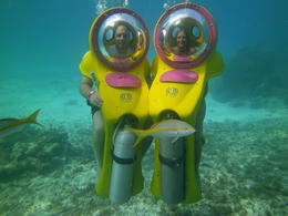 Photo of Cancun Cancun Underwater BOB Scooter and Snorkel Adventure Underwater BOB Excusion