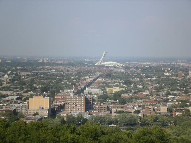 View From Mount Royale - Montreal