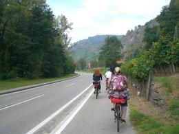 Photo of Vienna Wine Tasting Bike Tour departing Vienna Wachau Valley (Austria) bike tour: On the bikes between tastings