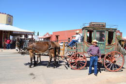 Photo of Phoenix Day trip to Tombstone Arizona and San Xavier Mission from Phoenix Wagon ride