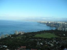The view from the summit of Diamond Head looking towards Waikiki, ToddM - May 2010