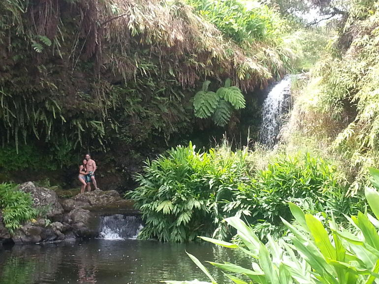 Waterfall Swim Break - Big Island of Hawaii