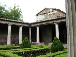 Photo of Rome Rome to Pompeii Shuttle Bus & Independent Day Trip A beautiful garden in a big family's house
