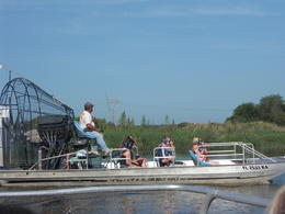 airboat ride on st johns river , Sandra H - July 2012
