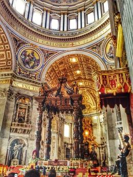Photo of Rome Skip the Line: Vatican Museums Walking Tour including Sistine Chapel, Raphael's Rooms and St Peter's Alter of St Peter's
