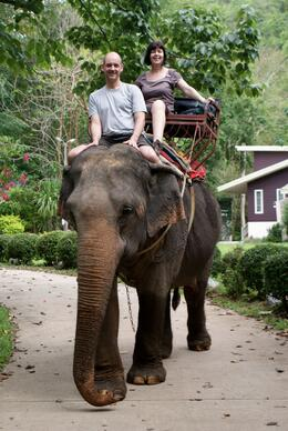Photo of Bangkok Khao Yai National Park and Elephant Ride Day Trip from Bangkok Another thing ticked off the bucket list.