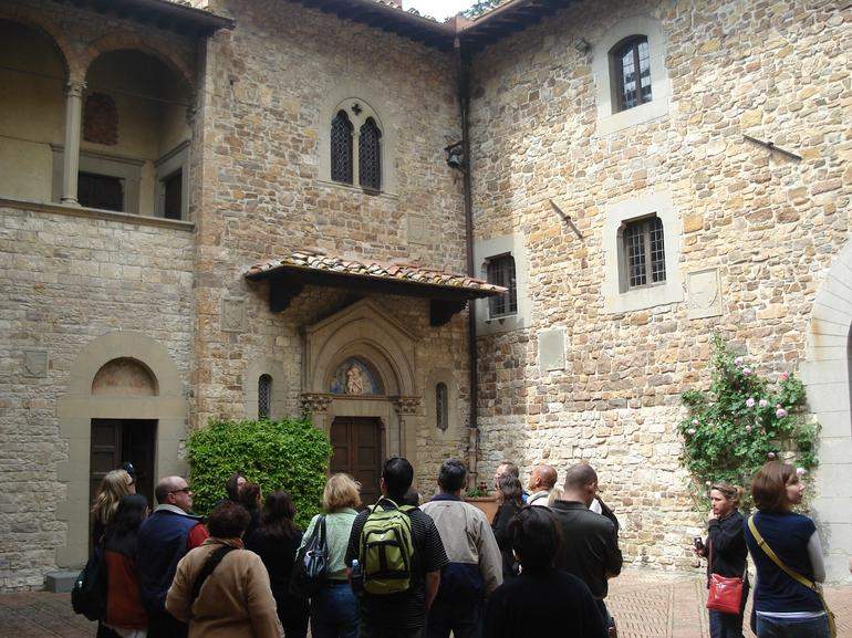 Arrival at castle - Florence