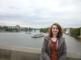 Me on the bridge!, Irene - October 2013