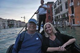 Tour ended with a gondola ride! Can't pass that up in Venice. , Rick Reynolds - June 2013