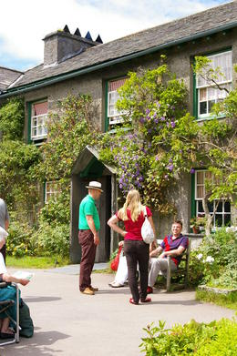 The home of Beatrix Potter in the Lake District , Marilyn K - August 2011