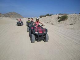 Photo of Los Cabos Los Cabos ATV Adventure Holding on tight