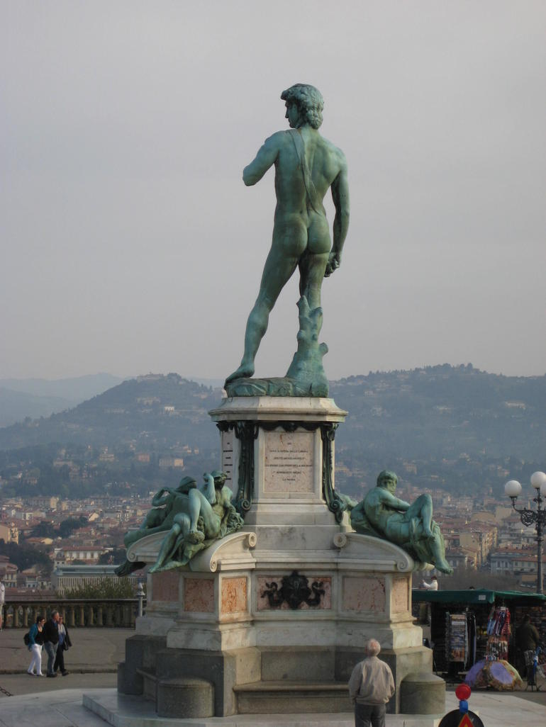 David at Piazza Michael Angello - Florence