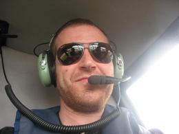 First time in a helicopter!, Bandit - November 2011