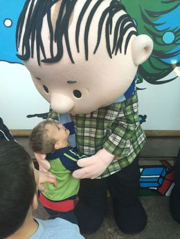 Getting a big ol' hug from Linus., ChrisBHandy - May 2016