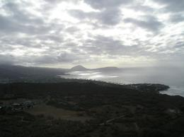 Photo of Oahu Diamond Head Crater Sunrise Small Group Adventure Looking north(ish) from Diamond Head