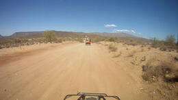 Riding on an ATV through the Agua Fria River Valley! - March 2012