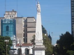 Dedicated to revolutionaries of 1810 who helped Argentina win independence, Yvette A - April 2010