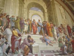 Photo of Rome Skip the Line: Vatican Museums Walking Tour including Sistine Chapel, Raphael's Rooms and St Peter's Raphael Fresco
