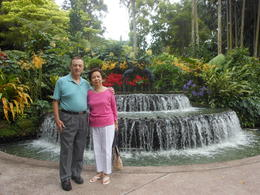 Dr. Glenn and Jeanne at Botanical Gardens , Glenn B - January 2013