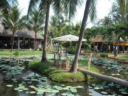 THIS WAS A STOP OFF TO THE MEKONG DELTA JUST LIKE THE SERVICE STATION ON THE M6 , leslie j - February 2013