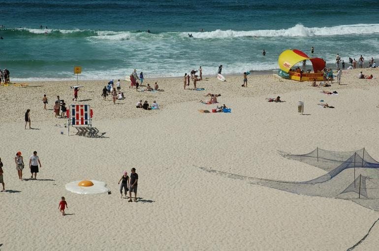 Tamarama during Sculptures by the Sea - Sydney
