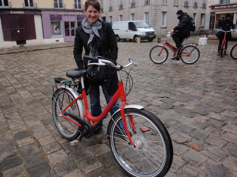 The Bike's Name was  and quot;Gustave and quot; - Paris