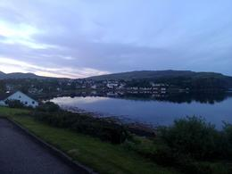 Photo of Edinburgh 5-Day Highland Explorer and Isle of Skye Small Group Tour from Edinburgh the view from our B and B!