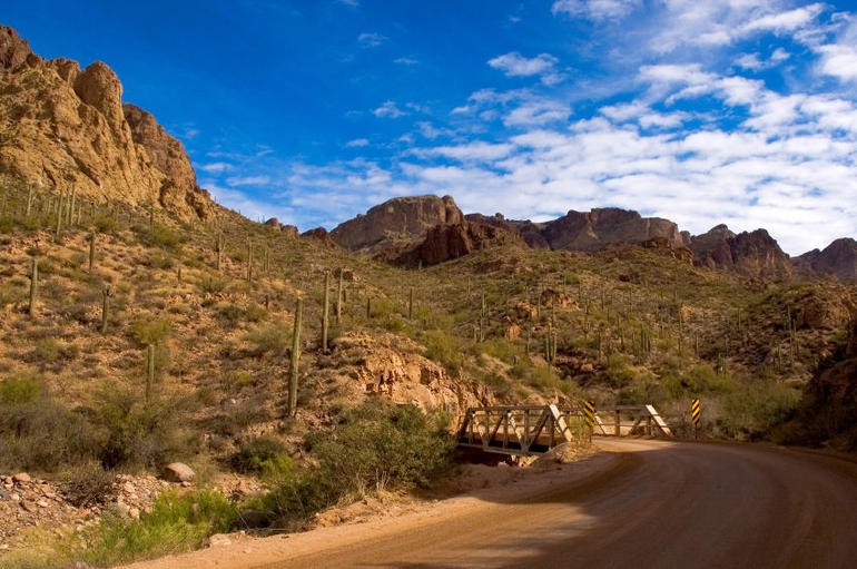 Apache Trail, just east of Phoenix - Phoenix