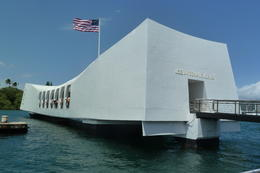 Arizona Memorial, Pearl Harbour , TravelTragic - April 2012