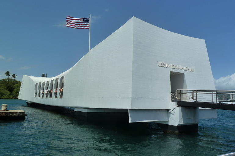 Arizona Memorial, Pearl Harbour - Oahu