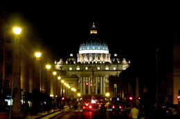 Bike stop near Vatican , Aditya G - September 2014