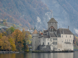 The castle on Lake Geneva., kellythepea - October 2010