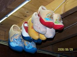 Some of the clogs they made at the clog factory., Lubabah H - July 2008