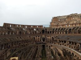 Colosseum interior , Melanie S - December 2015