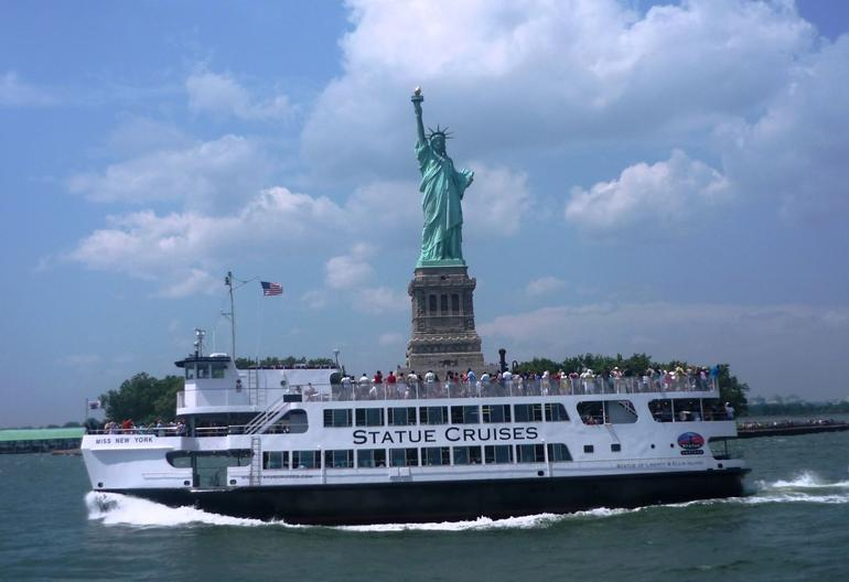 Cruise to Statue of Liberty - New York City