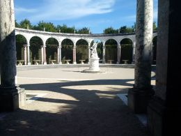 This is a view of the Colonnaide Grove in one of the gardens of Versailles. We had time to stroll through the gardens from the palace to the Grand Canal. , Boris G - September 2015