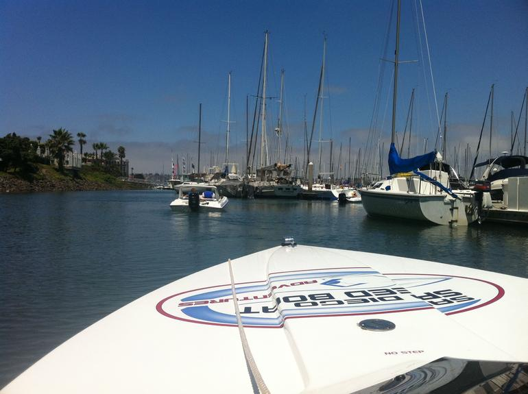 Heading out on the boats - San Diego