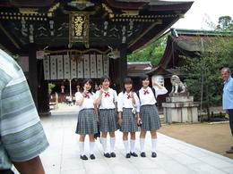 Photo of Kyoto Kyoto and Nara Day Trip from Kyoto including Nijo Castle High School Girls
