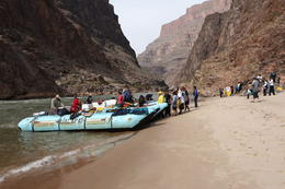 Photo of Las Vegas Grand Canyon White Water Rafting Trip from Las Vegas Landing at the Beach