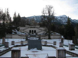 Photo of Munich Royal Castles of Neuschwanstein and Linderhof Day Tour from Munich Linderhoff grounds 9 January 2014