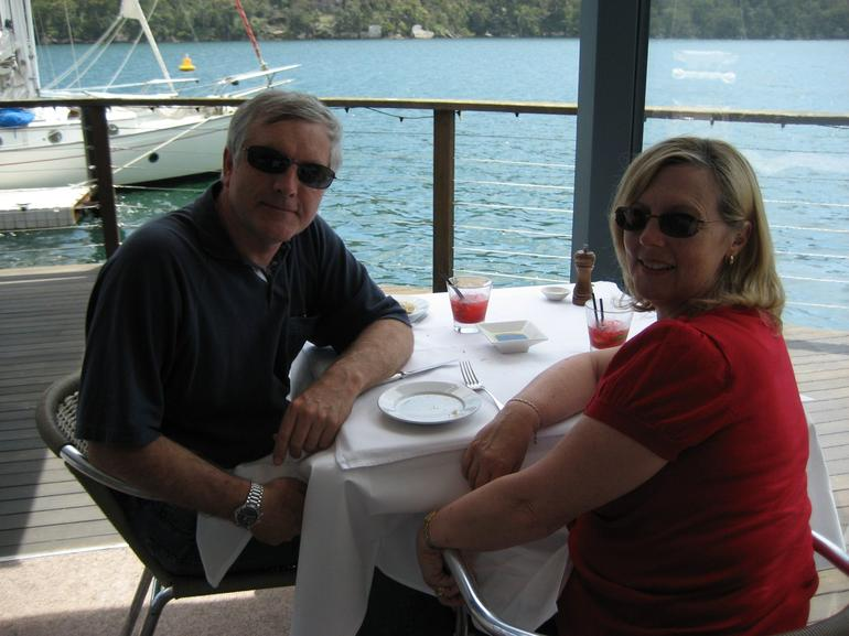 Lunching at Cottage Point - Sydney
