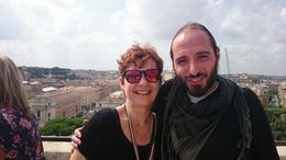 Photo of Rome Rome Angels and Demons Half-Day Tour On top of the Castel Sant' Angelo at the end of the fantastic tour.