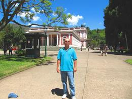 The Imperial Palace and Gardens, Petropolis, Ariel V - February 2010