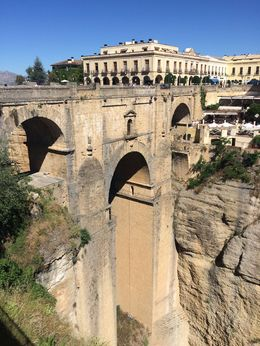 Puente Nuevo bridge in Ronda , Chandan M - June 2016