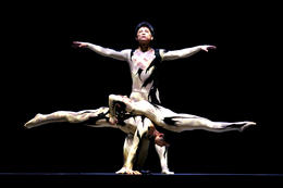 Photo of Shanghai Shanghai Circus World: ERA Intersection of Time Acrobatics Show Sculpture.jpg