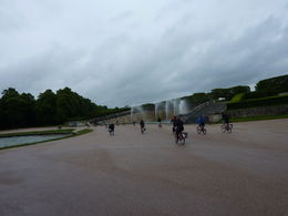 The group taking in all the fountains , Tina M - June 2015