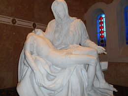 This is an exact copy of the Michelangelo housed in St. Peter's Basilica, , Wes J - June 2015