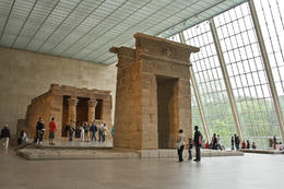 The Temple of Dendur in The Sackler Swing. Courtesy of The Metropolitan Museum of Art. - April 2013